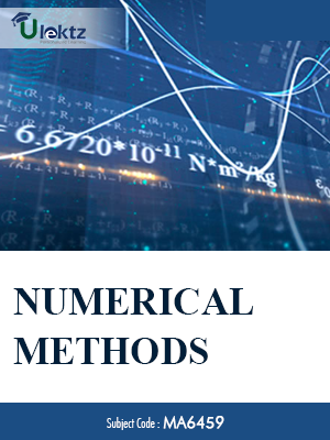 Numerical Methods-Important questions (MA6459)